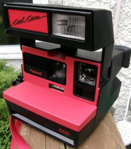 POLAROID RED COOL CAM , #001 , $100
