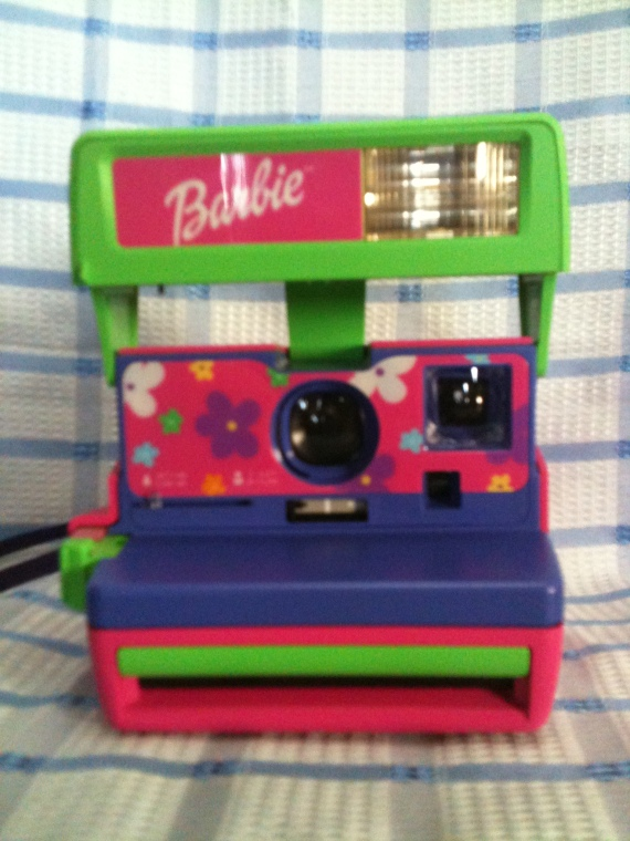 BARBIE  polaroid camera  collectors pc # 122 $120